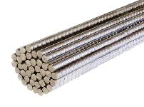 barras de hierro corrugado