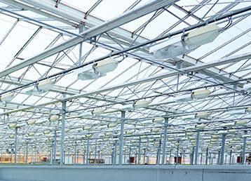 Hierros para la construcción de invernaderos