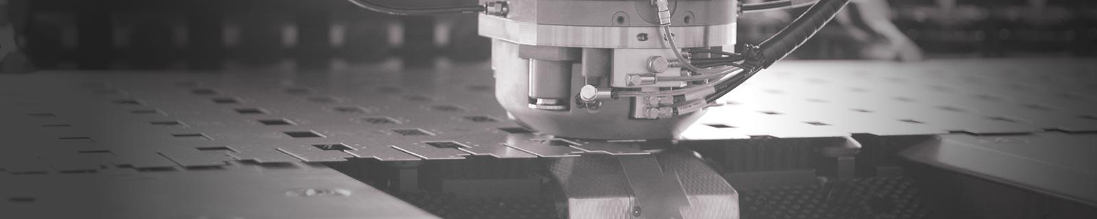 Máquina punzonadora para hierro y acero