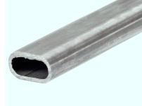 tubo de hierro ovalado